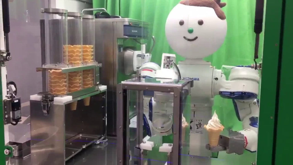Ice Cream Robot - YellRobot.com