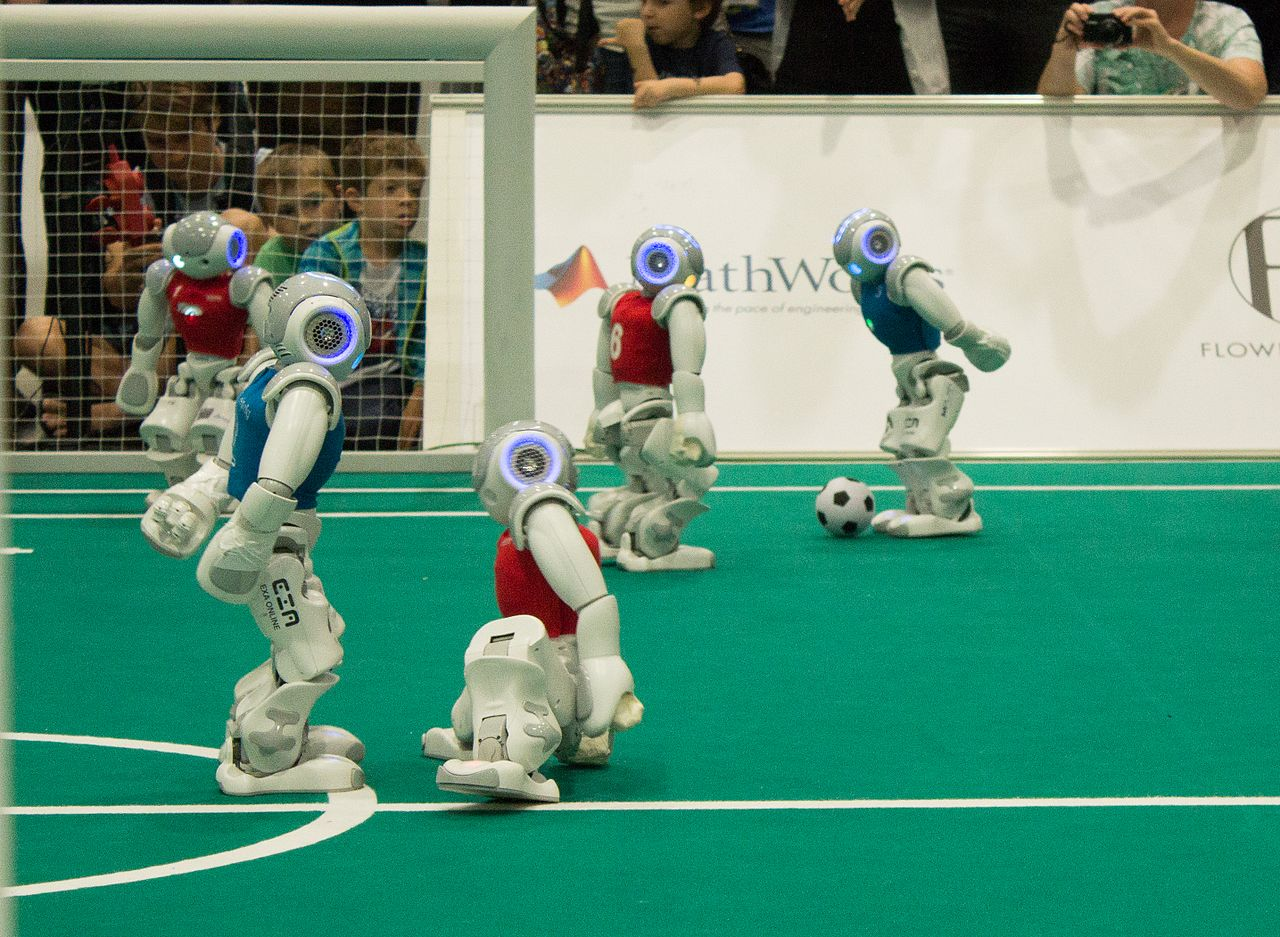 Robot Sports of the Future - Yell Robot