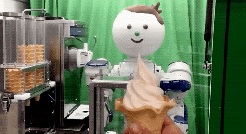 Ice Cream Robot - Speech recognition
