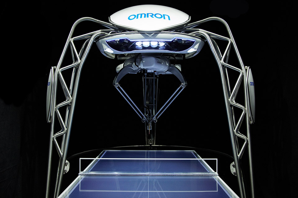 Ping Pong - Robot Sports of the Future - Yell Robot
