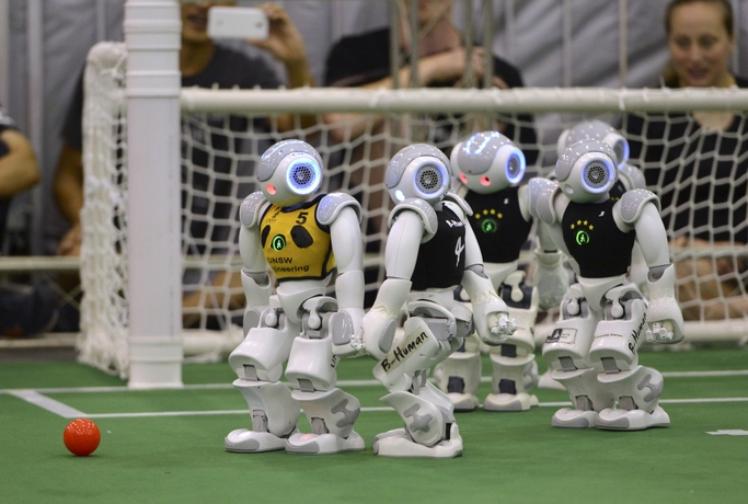 Soccer - Robot Sports of the Future - Yell Robot