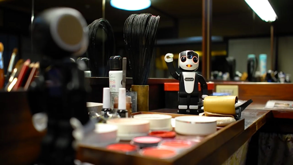 Robot Tour Guide Kyoto - YellRobot