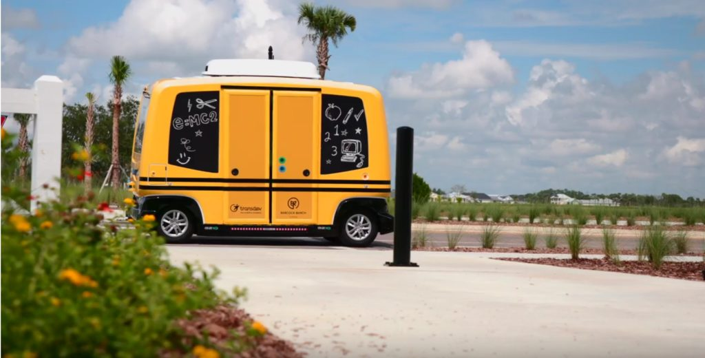 Autonomous School Shuttle - YellRobot