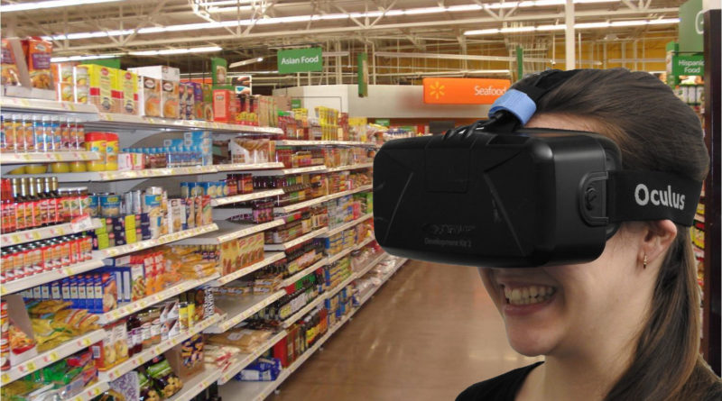 Walmart Amazon Virtual Reality Shopping - YellRobot