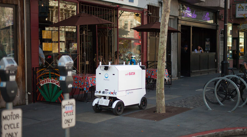 Dallas autonomous delivery robots - YellRobot