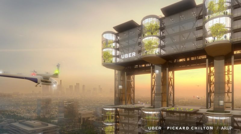 Uber Flying Taxis Elevate - YellRobot