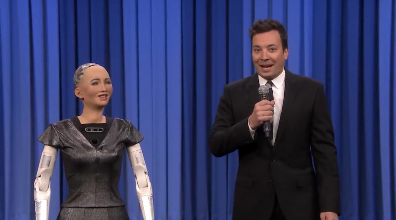 Sophia Sing Jimmy Fallon Tonight Show Duet - YellRobot