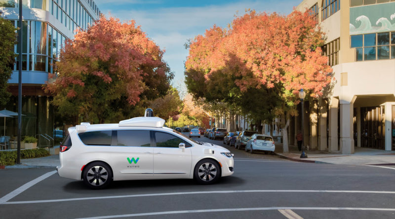 Driverless Autonomous Cars Waymo California - YellRobot