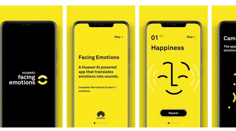 Huawei Facing Emotions - YellRobot