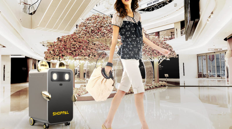 ShopPal Shopping Robot - YellRobot