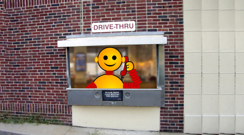 AI Fast Food Drive Through - YellRobot