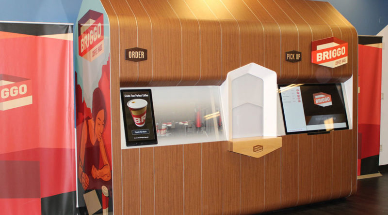 Briggo Coffee Haus Coffee Robot - YellRobot
