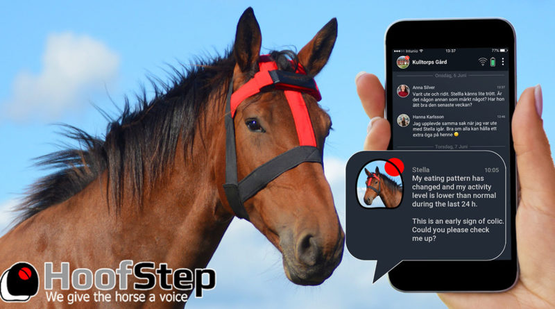 Hoofstep Horse wearable Monitor AI - YellRobot