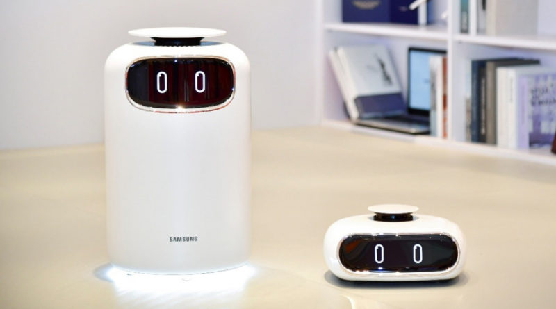 Samsung Bot Air is an Air Purifying Robot for Your Home - YellRobot