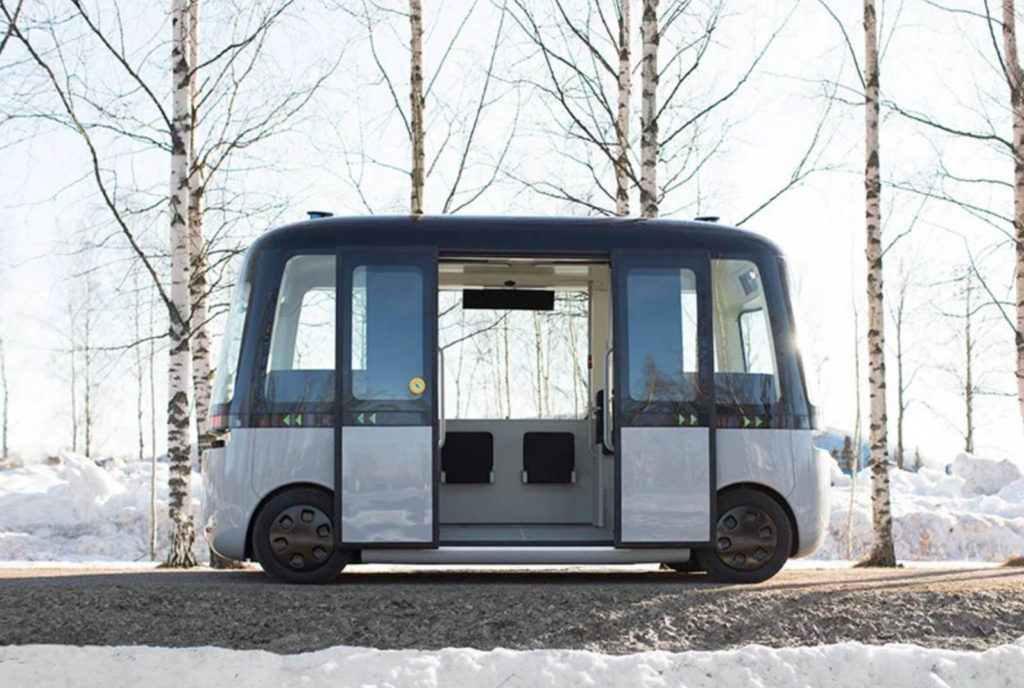 Finland Self Driving Bus Gaucha Autonomous - YellRobot