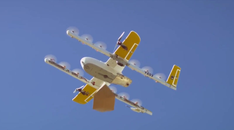 Google Wing Drone Delivery Canberra Australia - YellRobot