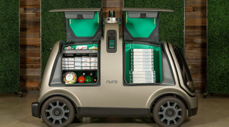 Dominos Self Driving Pizza Delivery Nuro AI