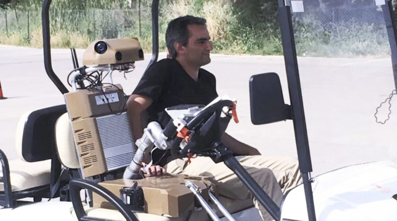 Robot Driver ivobility Self-Driving Vehicle - YellRobot