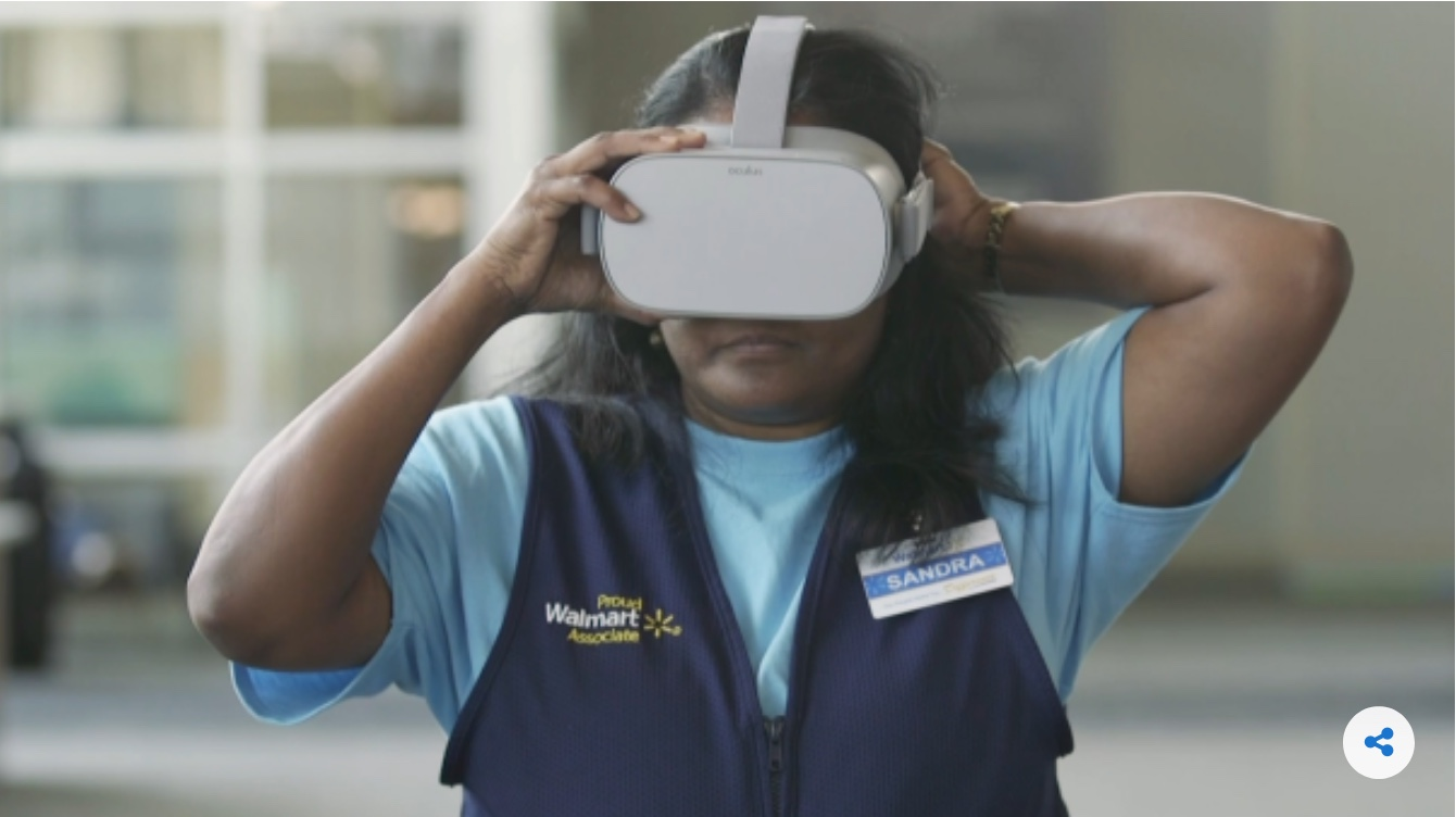 Walmart Using VR to Evaluate and Promote Employees
