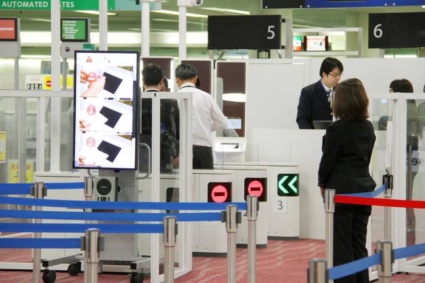 Facial Recognition Japan Airports - YellRobot