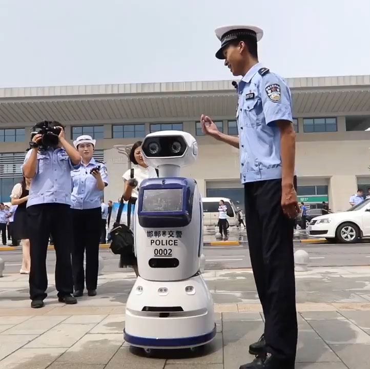 Traffic Robots Handan China - YellRobot