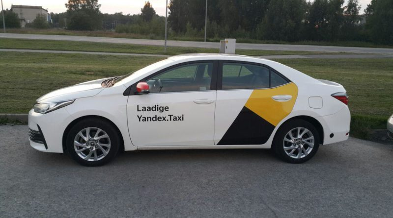 Facial Recognition Taxi Yandex - YellRobot