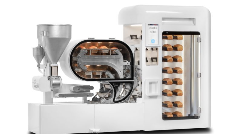 BreadMaking Robot Mini Bakery Stop & Shop - YellRobot