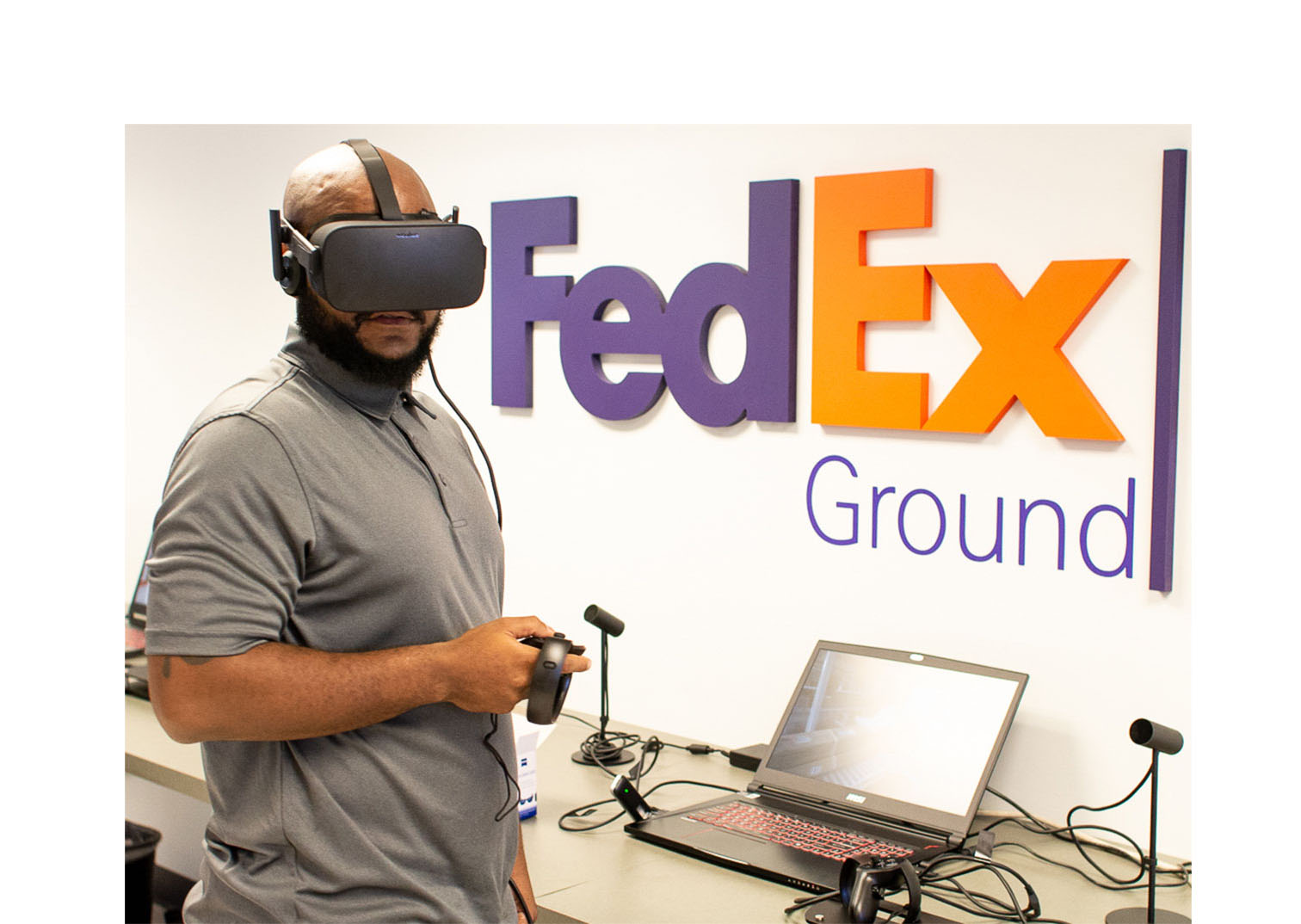 FedEx Using VR to Help Train Package Handlers