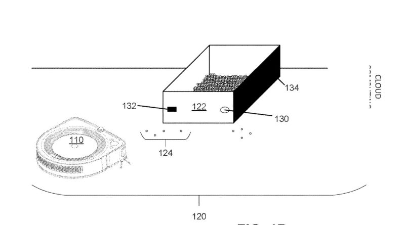 iRobot Pet Cleaning Robot Patent - YellRobot