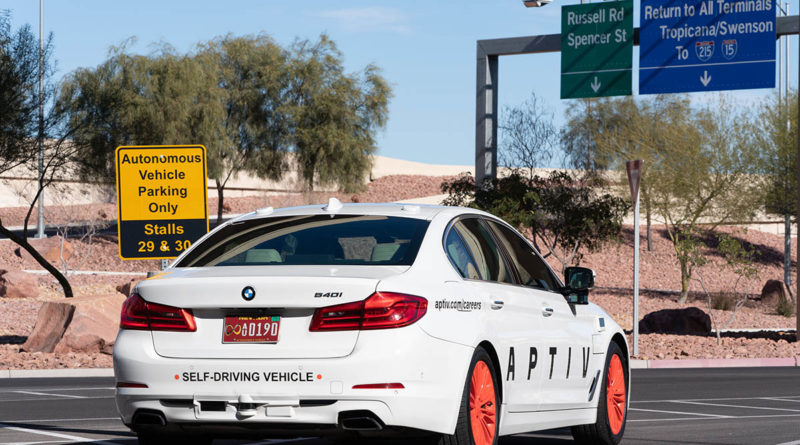 Aptiv self-driving cars Las Vegas - YellRobot