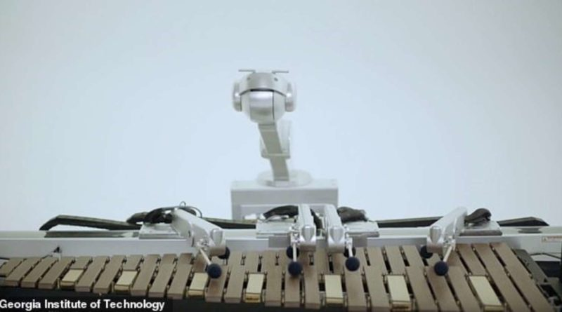 Songwriting robot Shimon writes lyrics - YellRobot