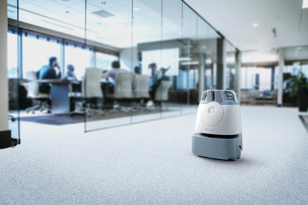 Brain Corp Floor Cleaning Robots San Diego - YellRobot