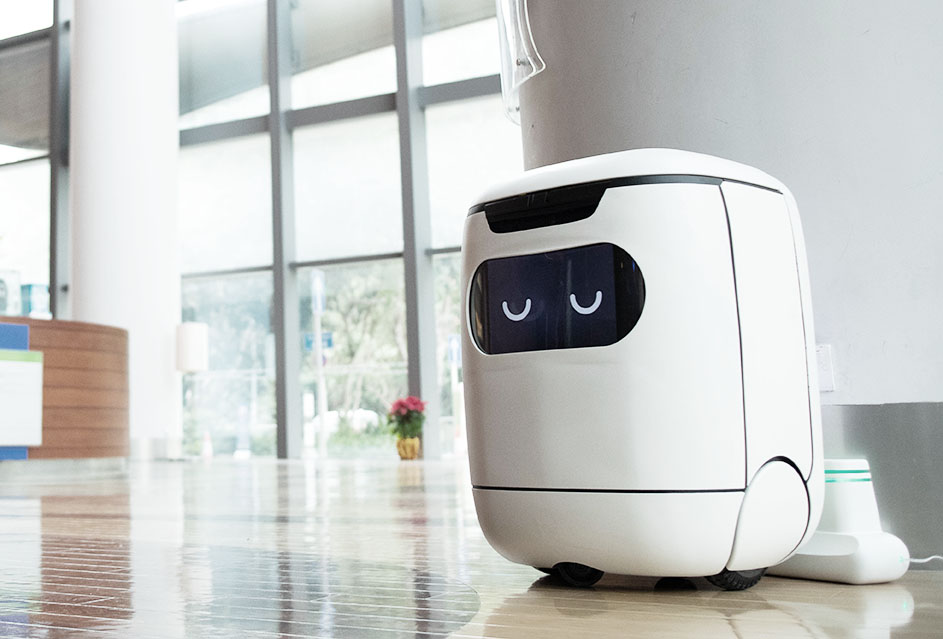 Hong Kong Hotel Delivery Robot Genie - YellRobot