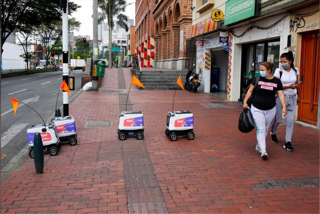 Rappi Delivery Robots Medellin Colombia - YellRobot
