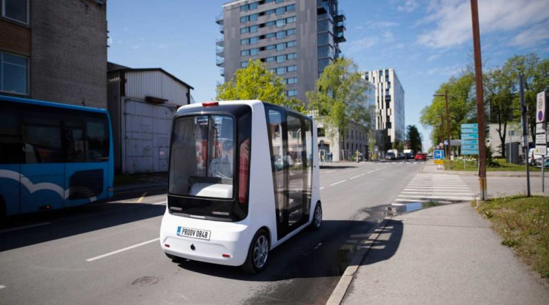 estonia self driving shuttles Tallinn