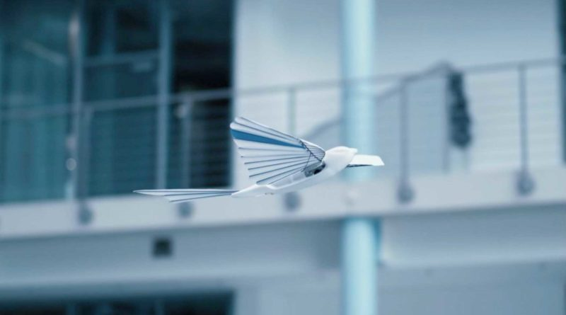 robot bird festo germany - YellRobot