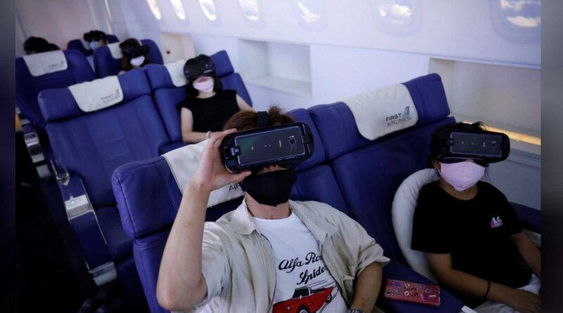 VR Airline First Airlines Virtual Reality Japan - YellRobot